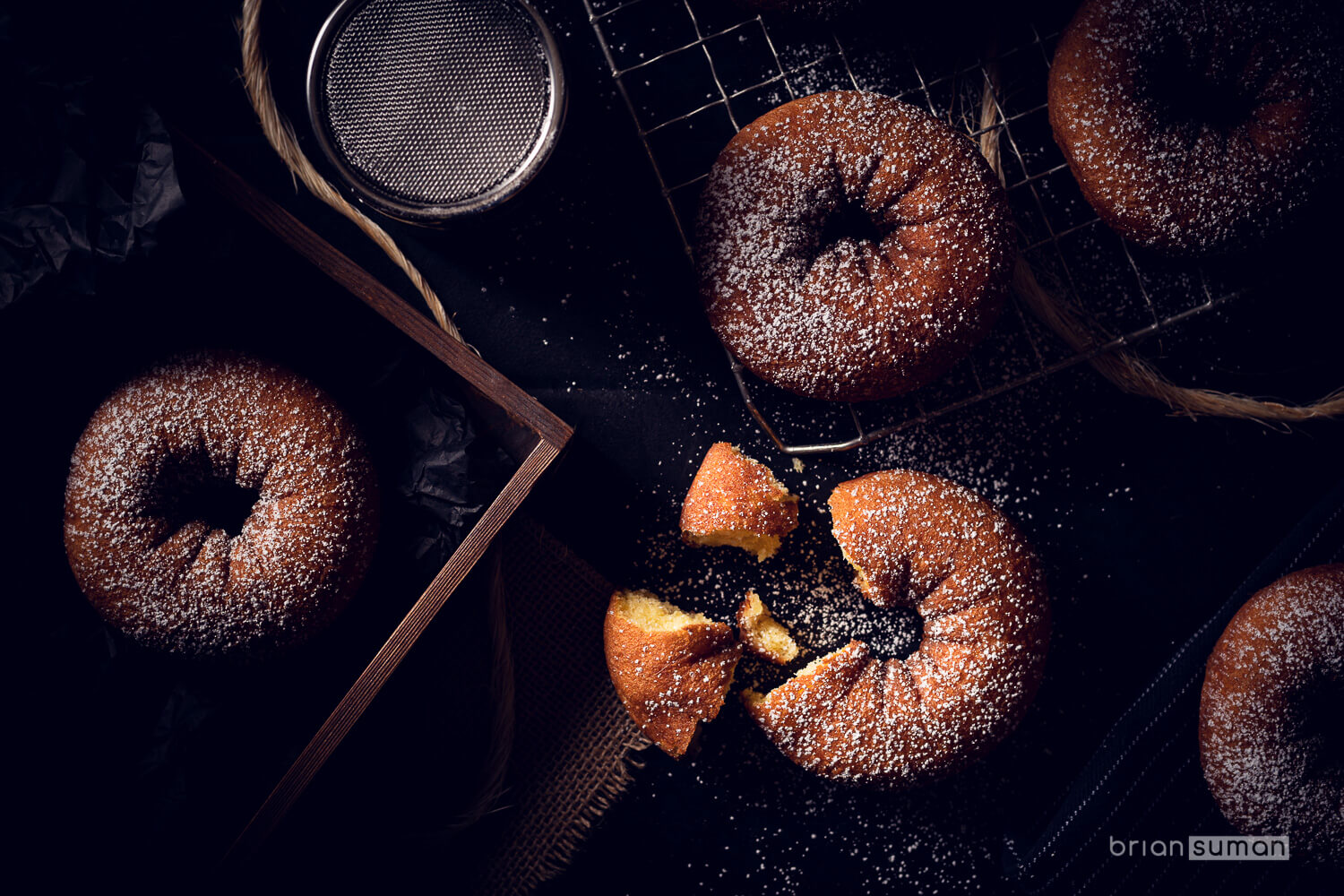 Powdered Donuts - Breakfast Series-0001-Brian Suman Photography.jpg