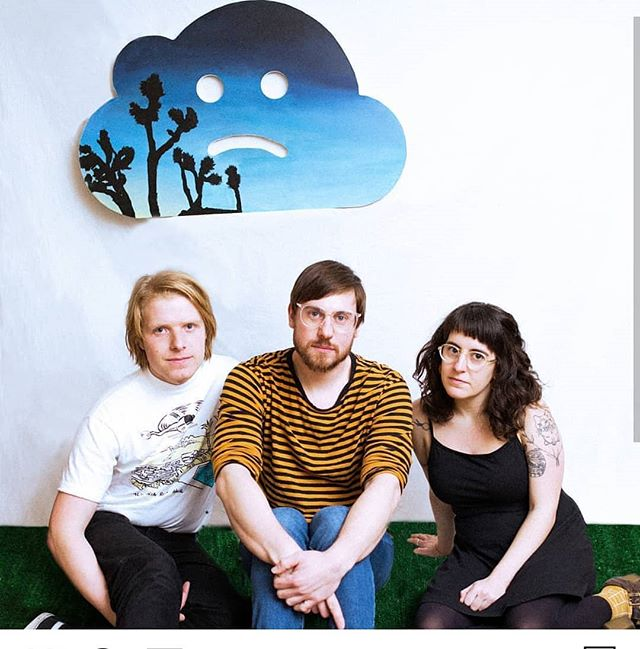 The main buddies @halfsour used a cloud from my installation Can't Connect in their promo photos and everyone looks very cute.