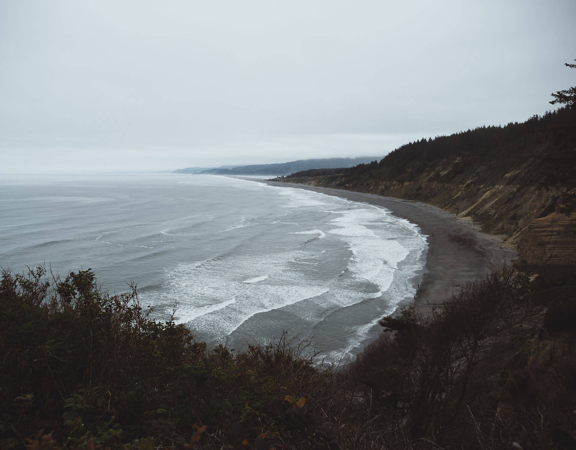 Overlooking Agate Beach
