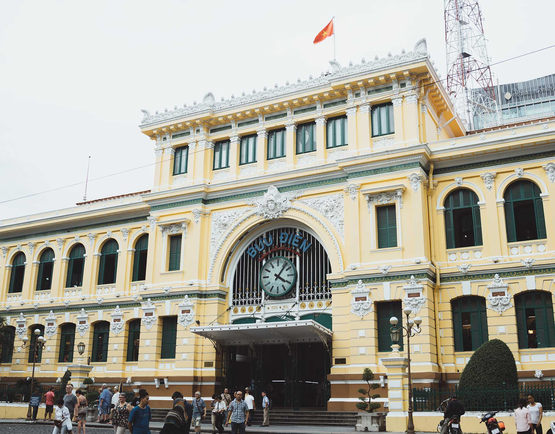 Ho Chi Minh City The Central Post Office