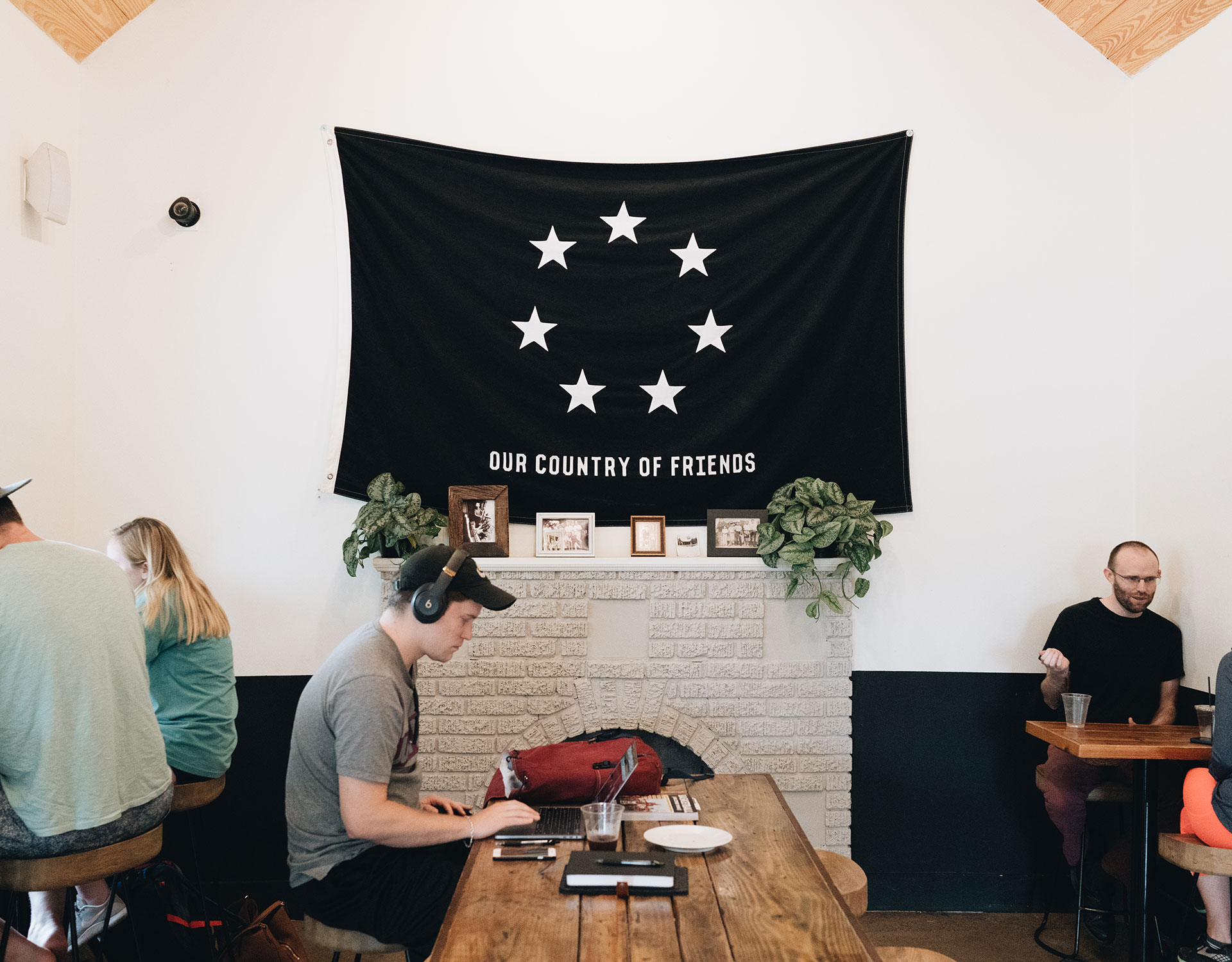 Seventh Flag Coffee in Austin, Texas