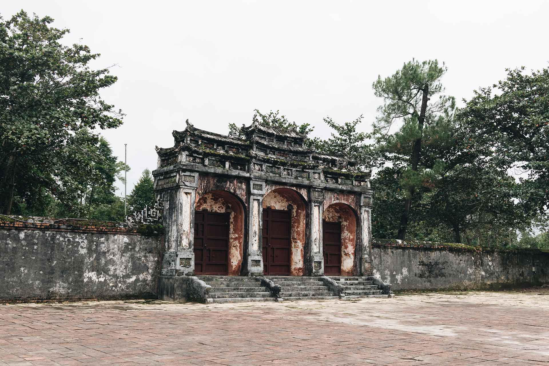 Tomb of Minh Mang in Hue, Vietnam