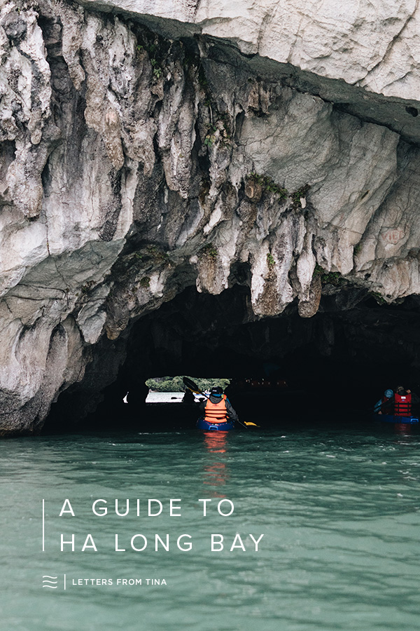 A Travel Guide to Ha Long Bay, Vietnam #halongbay #travelguide