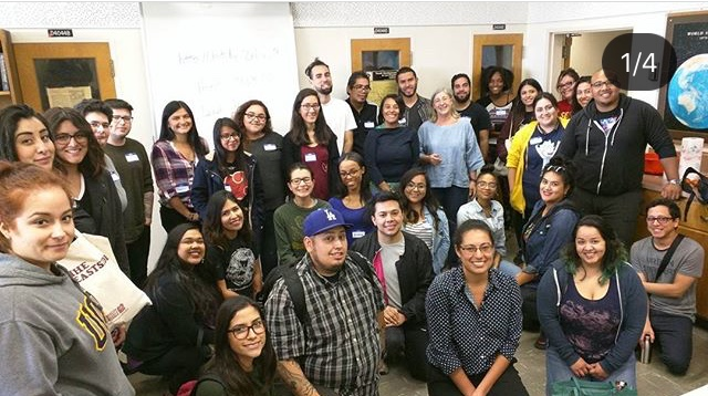 Mapathon - Oct 2017 - PRiA teamed up with Cal State LA's Latin American Studies and the Geosciences Department to host a two day Mapathon. Over 100 students and community members worked all day on mapping critical areas of the island. This initiative is part of a national effort called #PRMapathon, and the goal is to recreate what Puerto Rico looked like before the hurricanes in order to aid ongoing emergency response efforts.