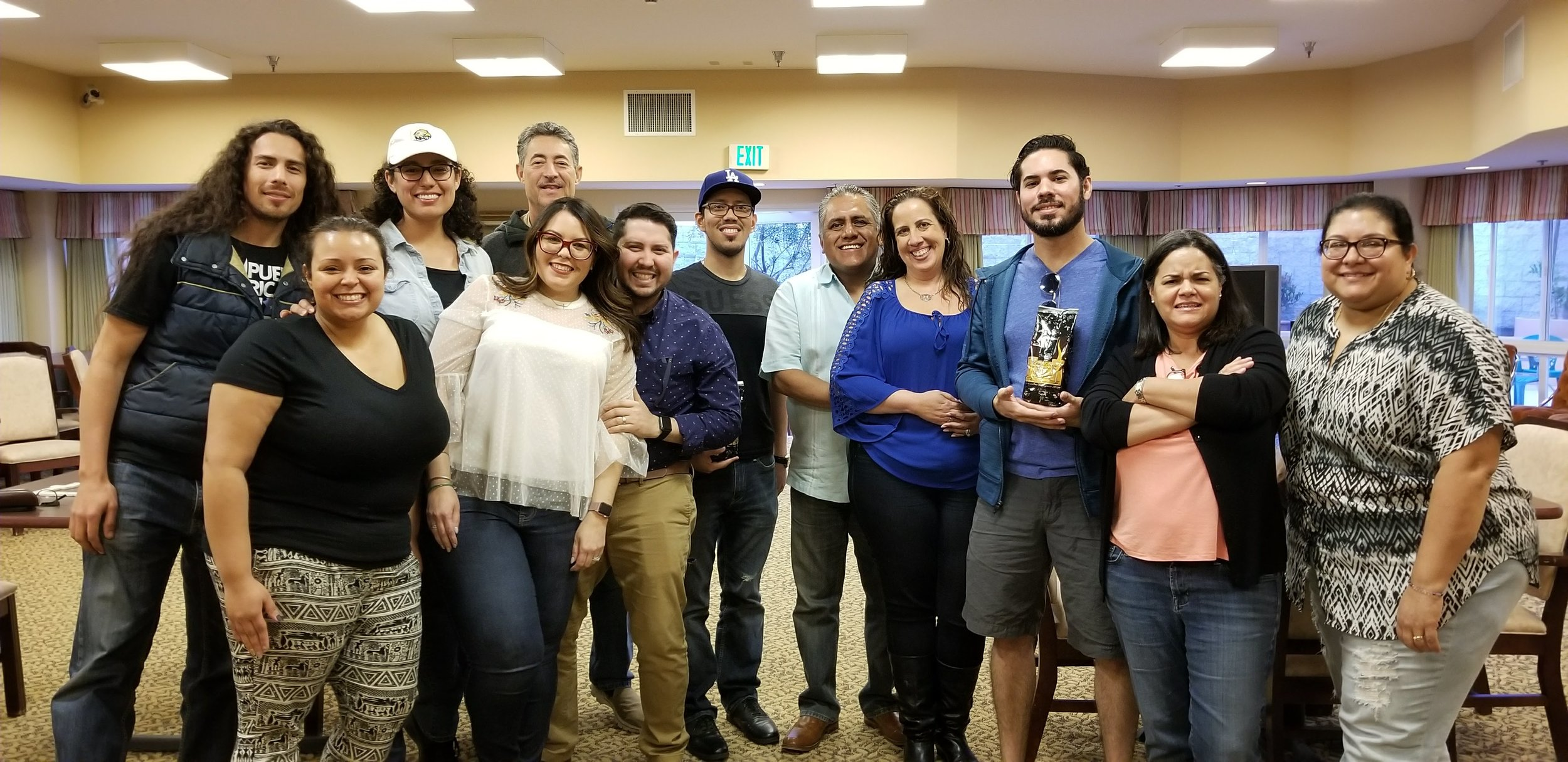 2nd Annual Café y Dominoes - March 2018, PRiA held the 2nd Annual Café y Dominos Tournament in Hollywood, CA. Puerto Ricans In Action is committed to providing family events for our community.