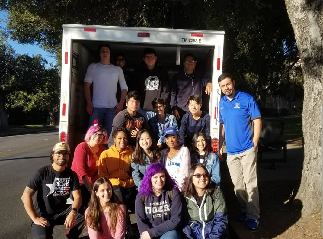 North Hollywood High School - Dec. 2017 - When North Hollywood High students reached out to us about hosting a donation drive we never imagined it would add up to this much. The Students collected and filled over 40 boxes of supplies to send to Puerto Rico.