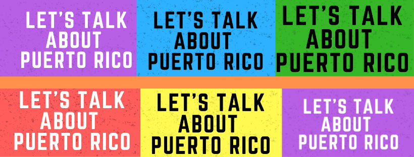 A traveling lecture series that covers Puerto Rican art, music, history and current affairs. We always include children's art activities and light refreshments.  Email us and let us know where you live and where we should hold our next event. Professionals, we invite you to speak at our event on a topic of your choice.  For more information click  here