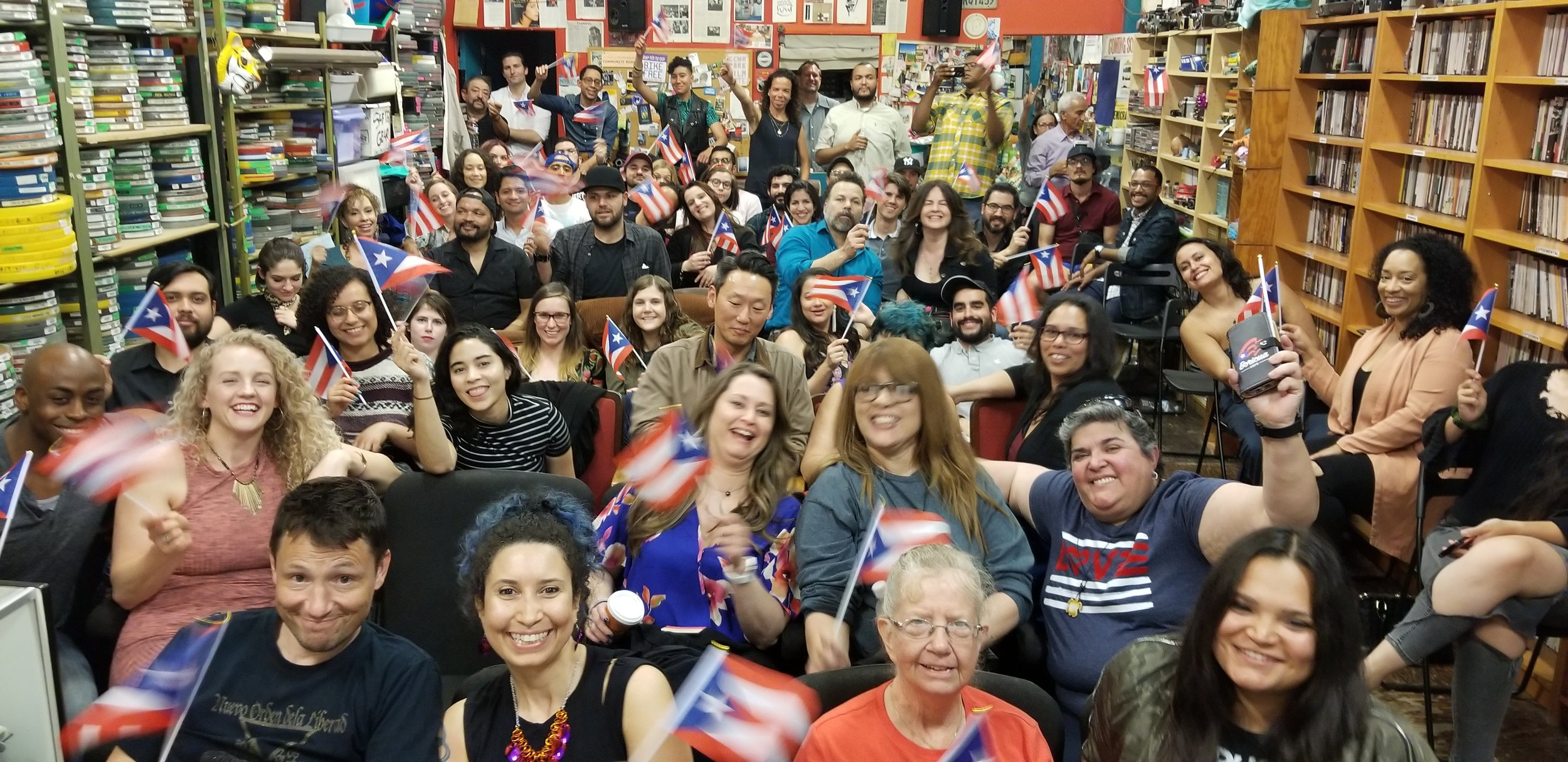 2nd Annual Puerto Rican Film Night - On Friday, April 12, 2019, Puerto Ricans in Action hosted the 2nd Annual