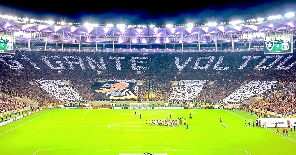 Maracanã stadium, in rio de janeiro, and botafogo F.R., one of the top 10 biggest soccer teams in brazil: two projects involving tons of passion and excitement.