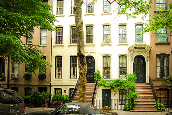 holly golightly's apartment, located on east 72nd street in manhattan, new york