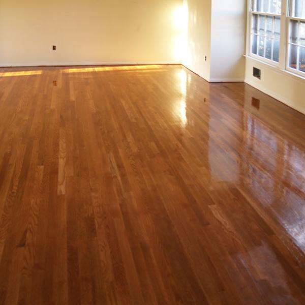 Wood Floor Cleaning -