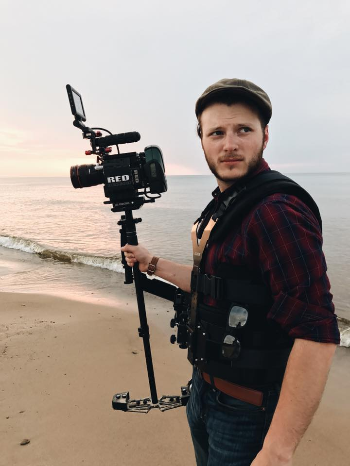 Branden Stanley with Red Epic on Glidecam