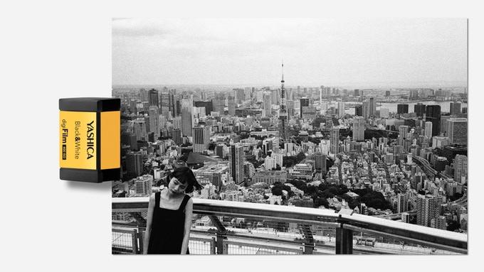 ISO 400 B&W Film - grainy black and white