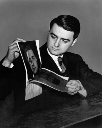 Dr. Edwin Land, the founder of Polaroid, and famed inventor.