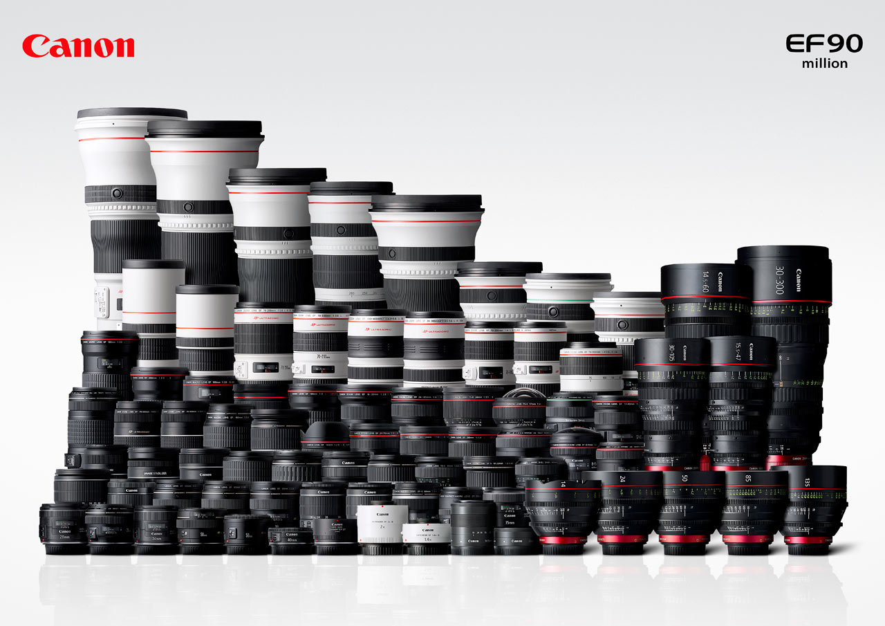 Canon makes a crazy amount of glass. Today there are more lenses made for the EF mount than any other lens mount.