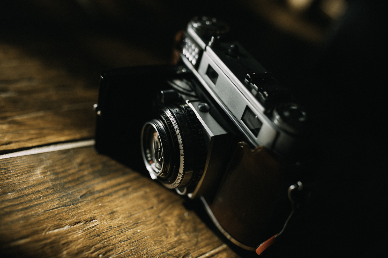 The retina is a beautiful camera. Even 64 years after it was built, this refined tank of a camera still stands up to the daily grind.