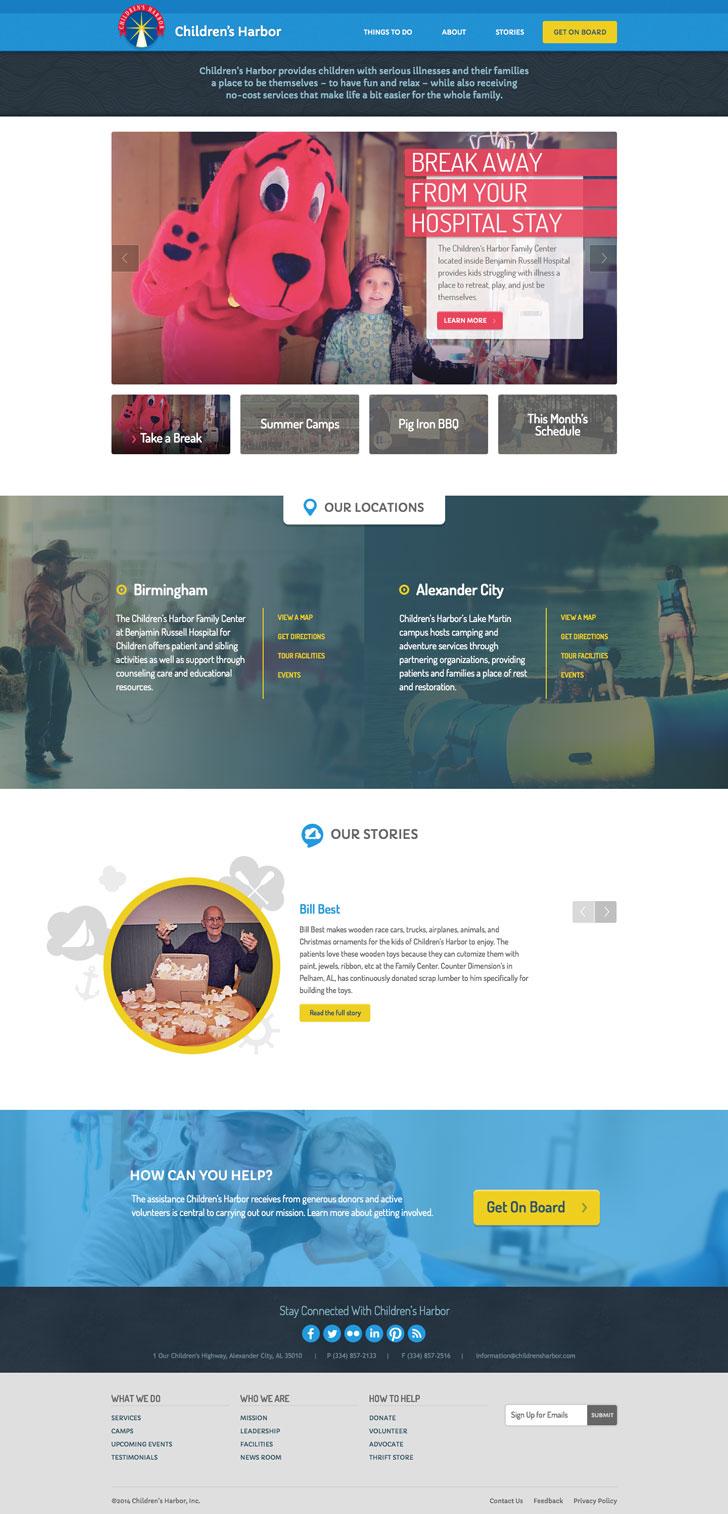 Children's Harbor homepage