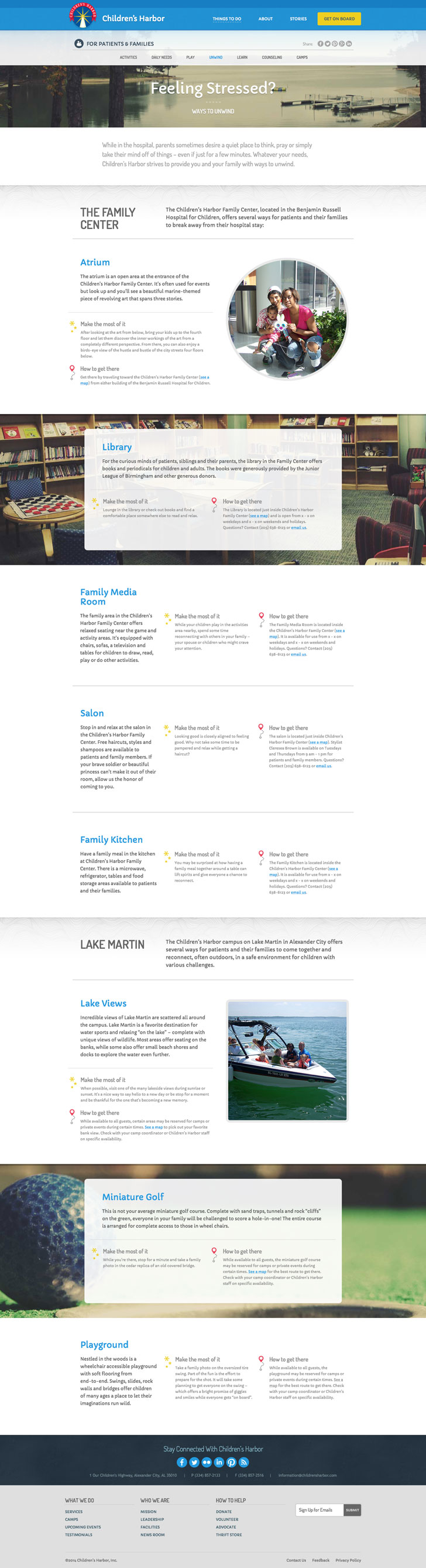 Children's Harbor content page
