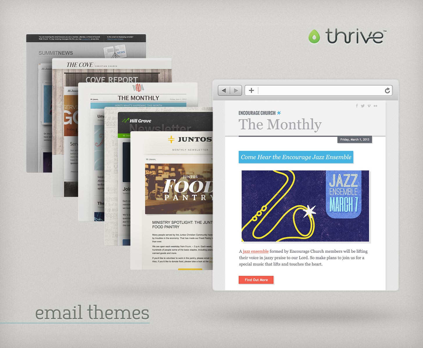 Thrive email themes