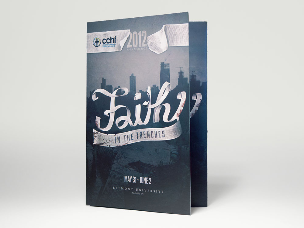 Faith tri-fold brochure cover