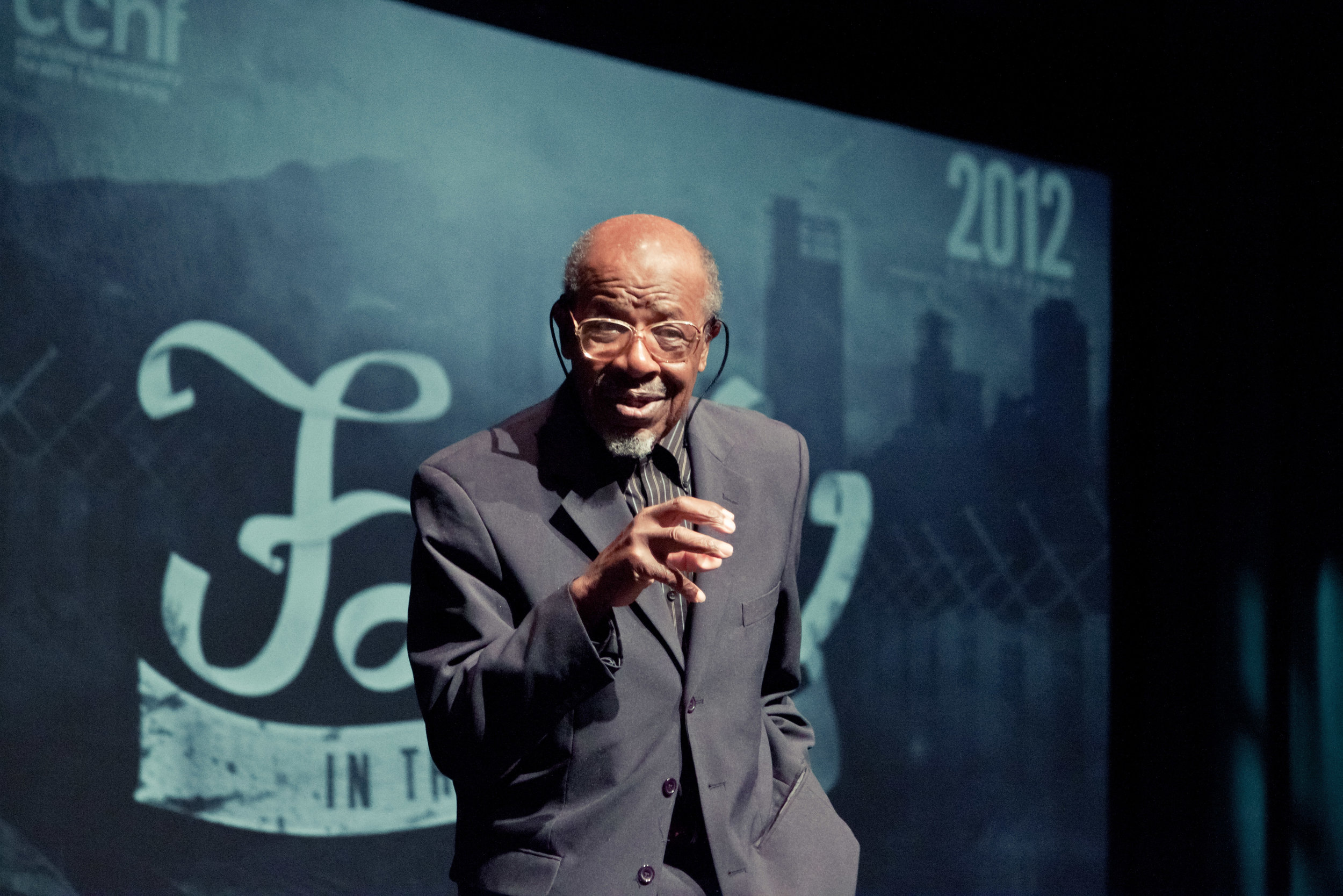 - Plenary session speaker Dr. John M. Perkins (at right) is best known for his civil rights leadership from the 1960s onward, preaching a message of racial reconciliation and love, as well as for founding the Christian Community Development Association (CCDA).