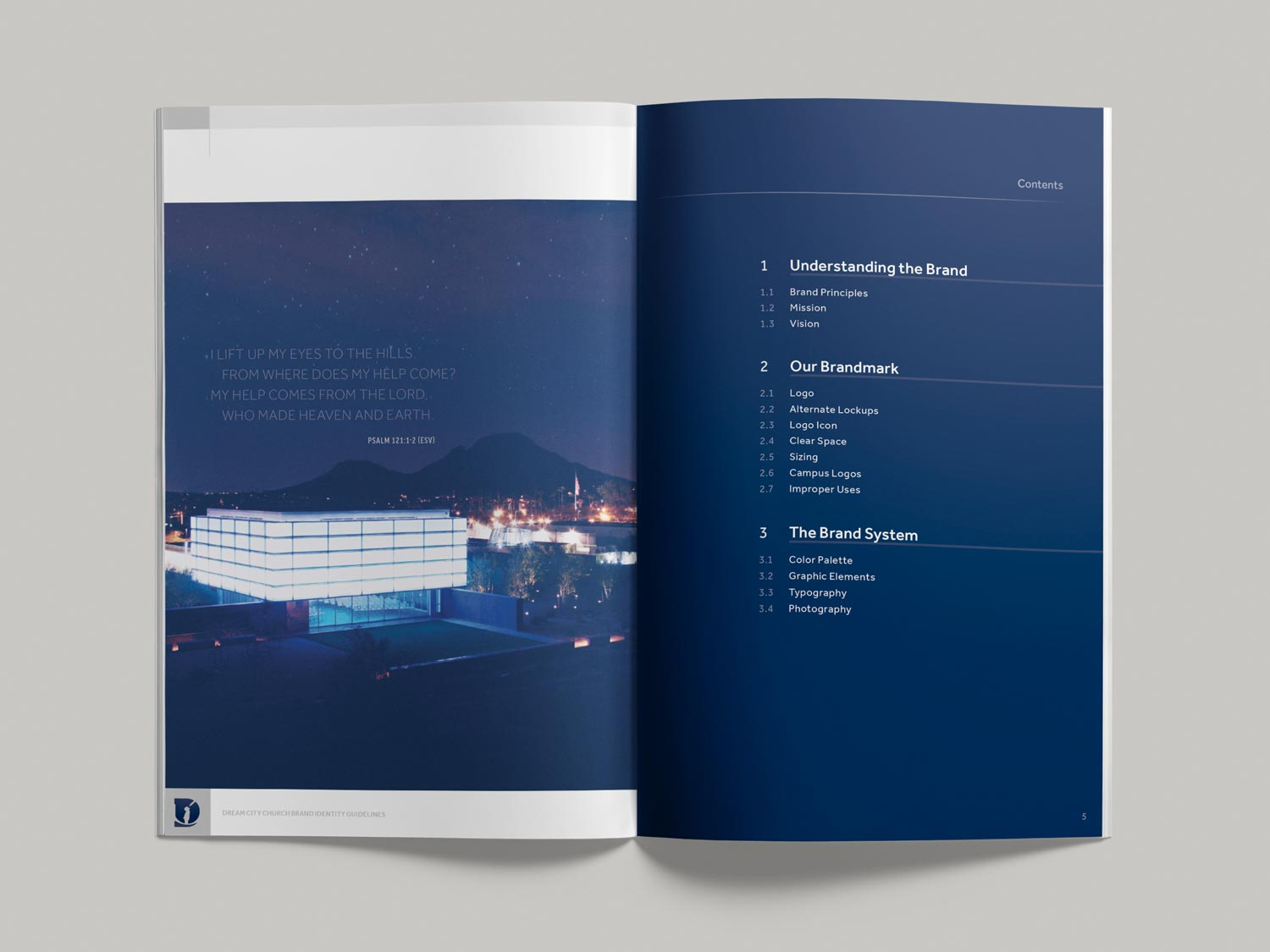 Dream City Church brand guidelines pp4-5
