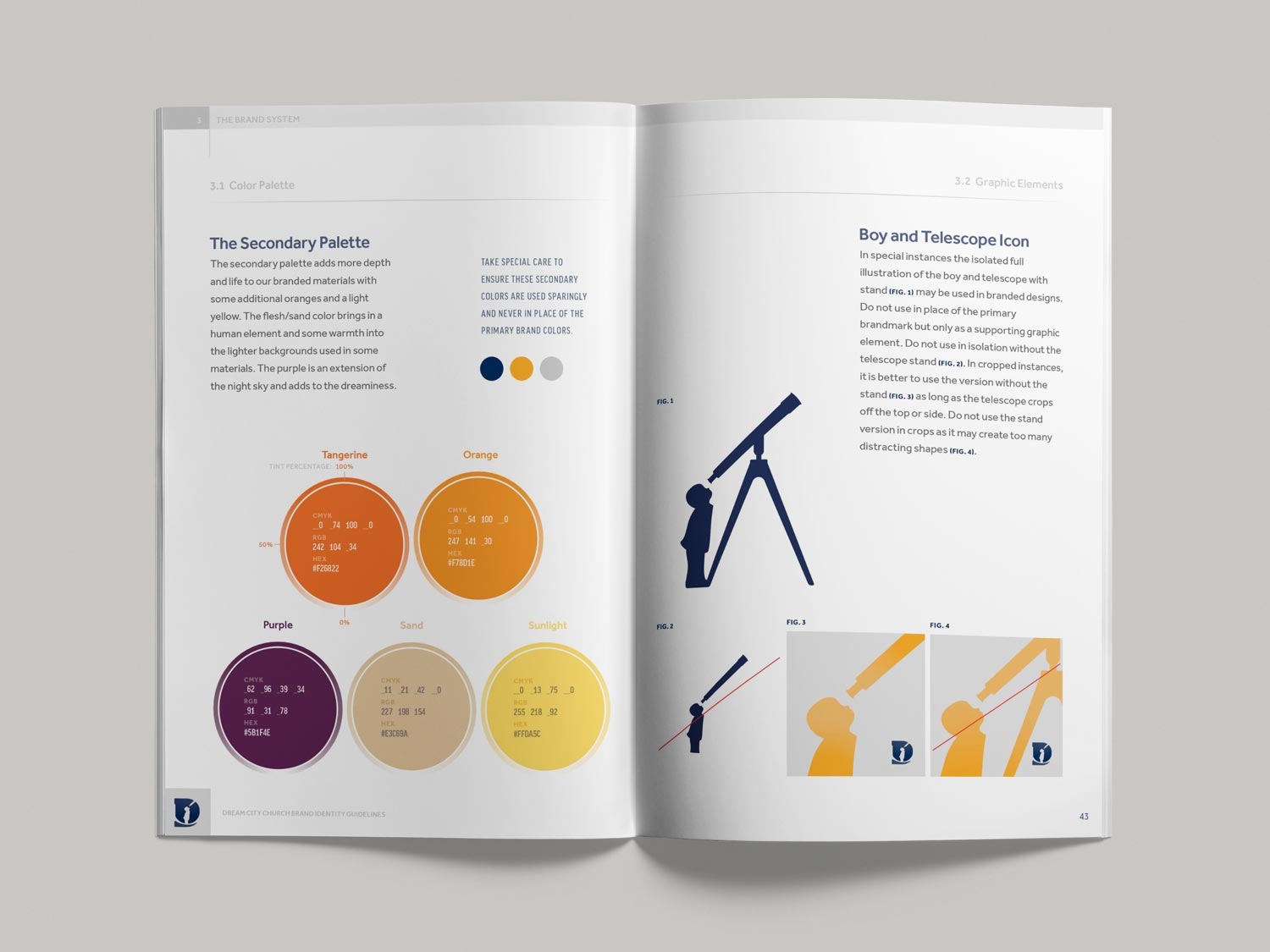 Dream City Church brand guidelines pp42-43