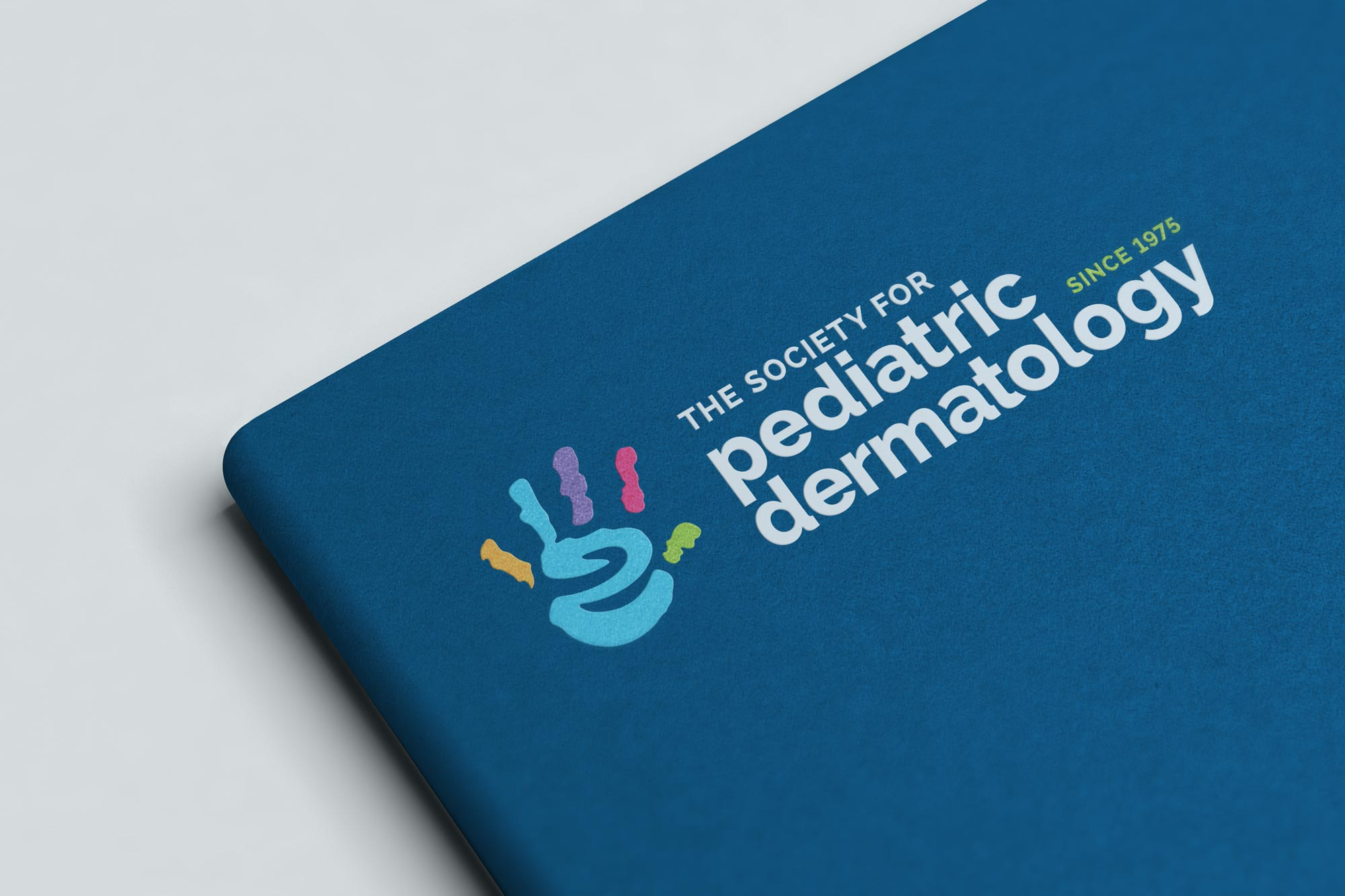 SPD logo on notebook