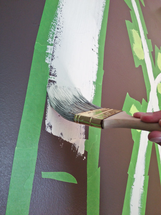 nursery mural step 10-1