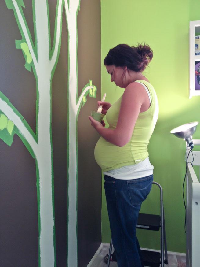 nursery mural step 10-2