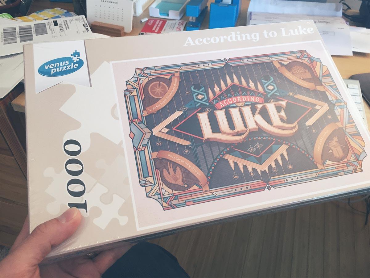 Luke puzzle box