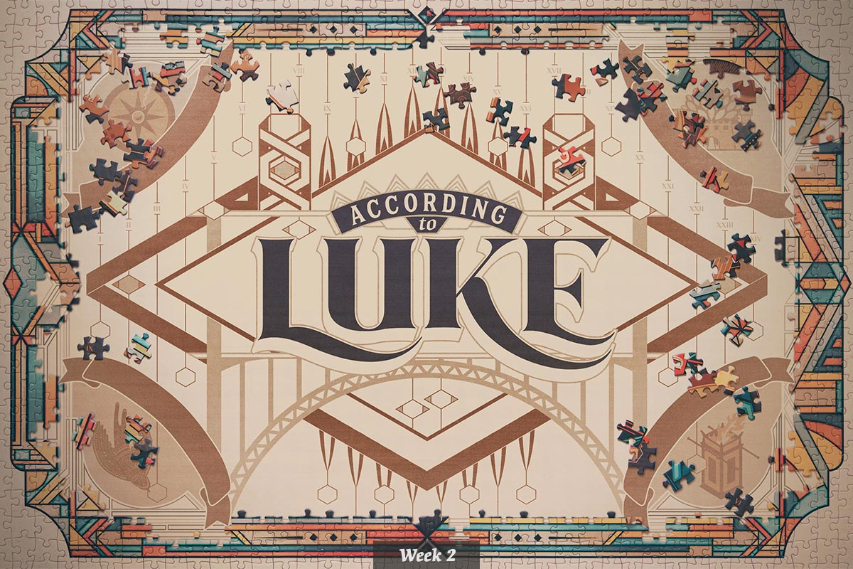 According to Luke series graphic – week 2