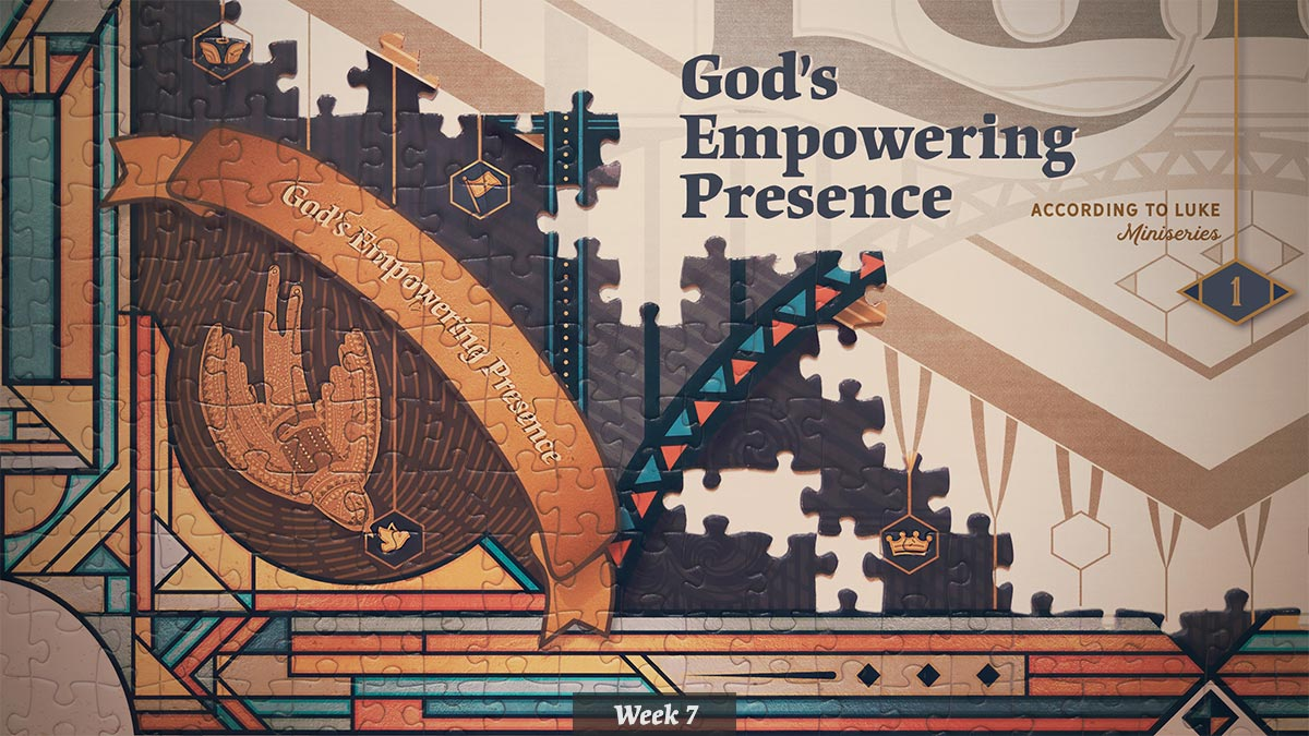 According to Luke – God's Empowering Presence miniseries graphic