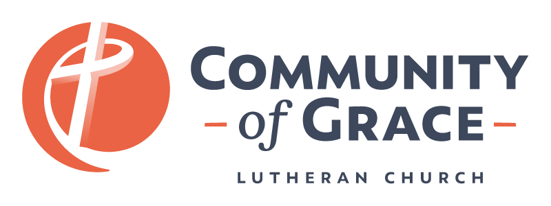 New brandmark for Community of Grace Lutheran Church