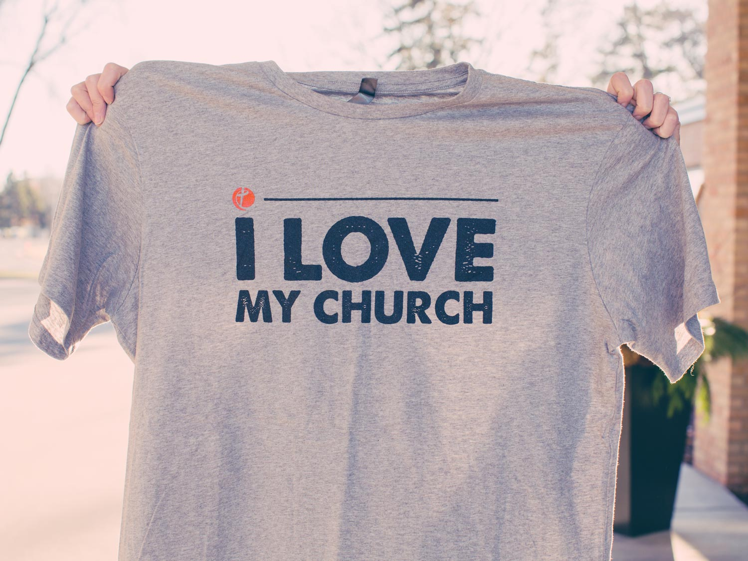 "Community of Grace ""I Love My Church"" t-shirts"