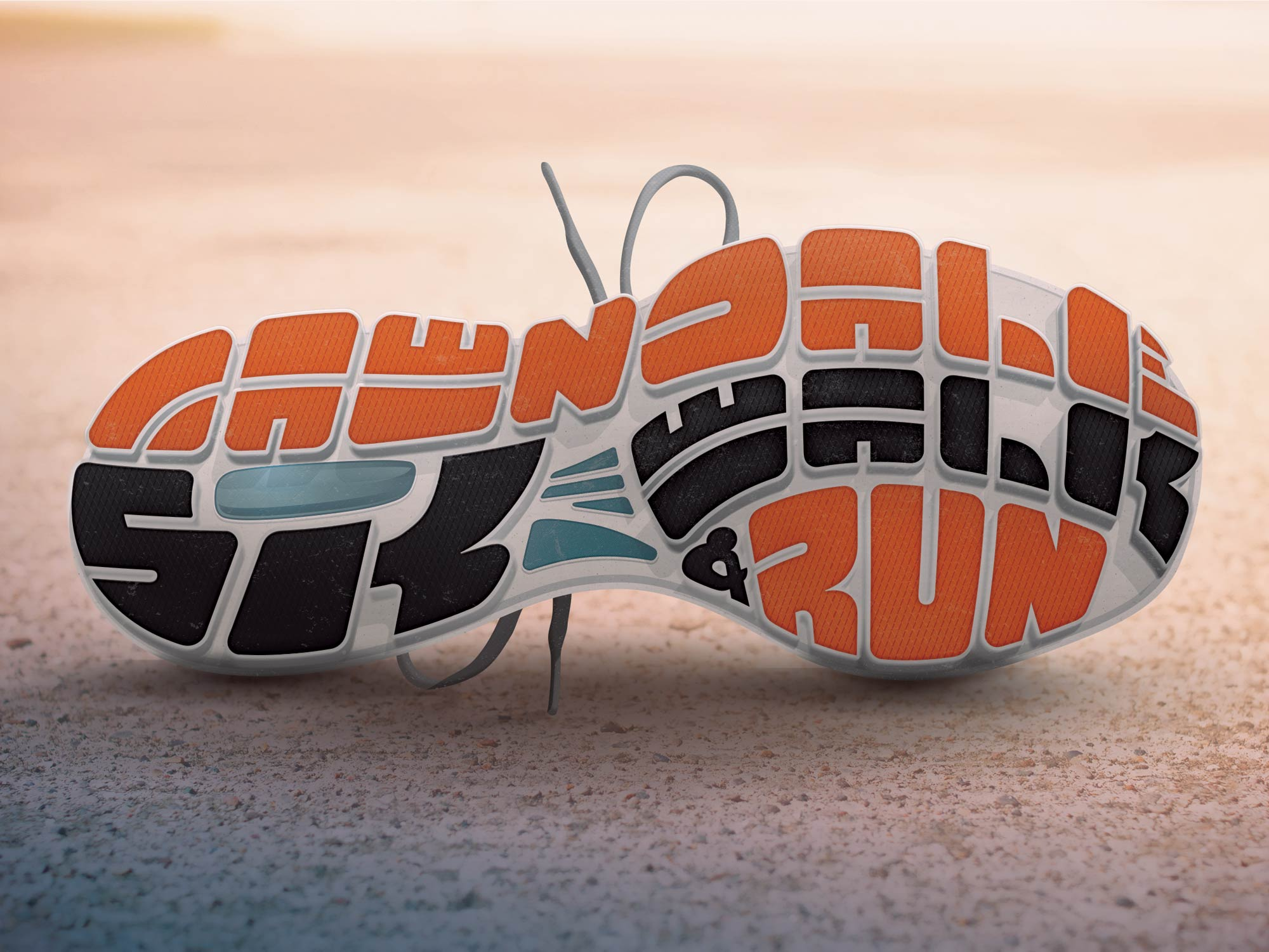 Lawndale 5K event graphic