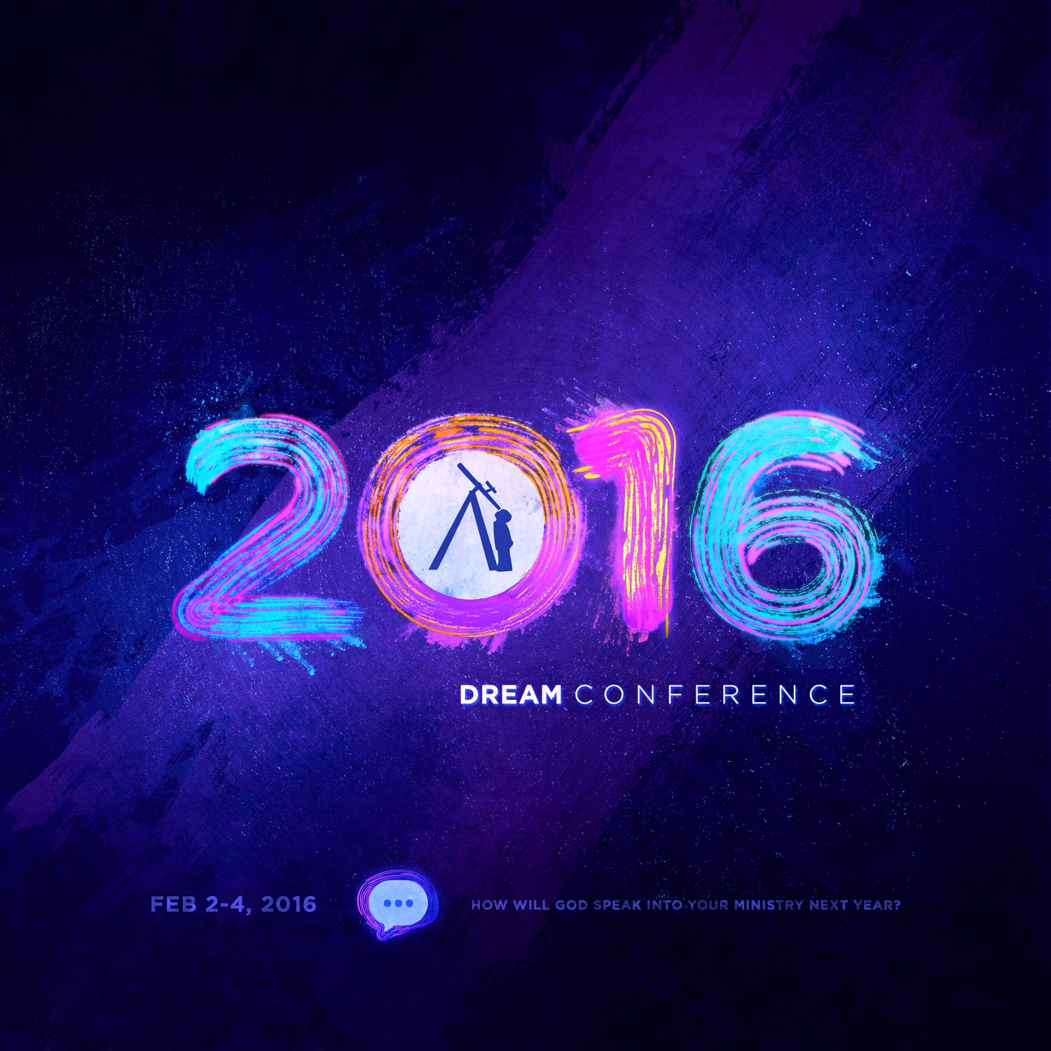Concept for the 2016 Dream Conference teaser graphic