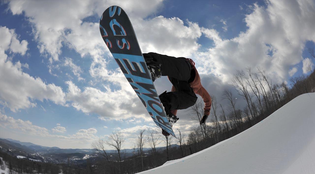 Snowboarding -