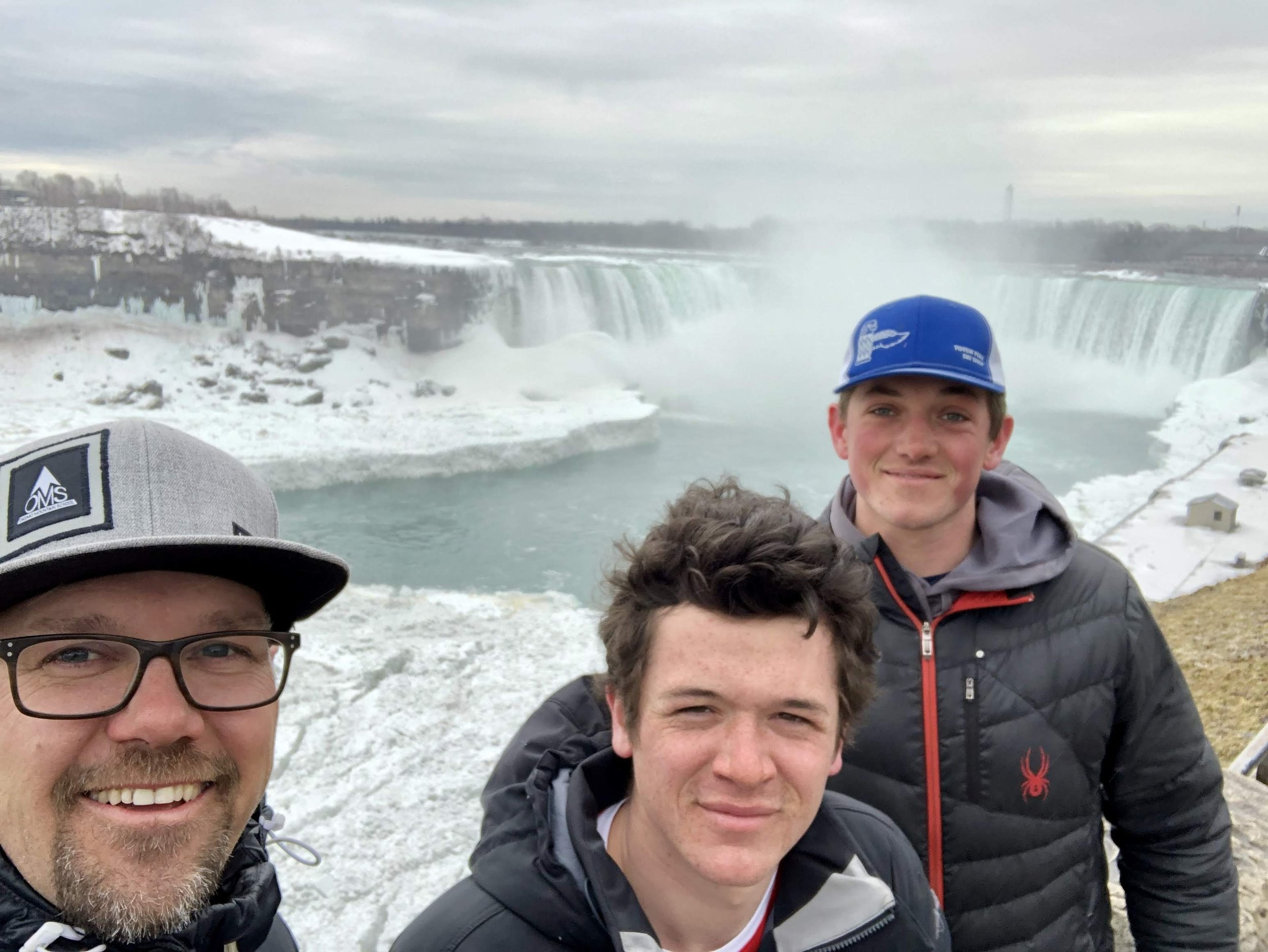 A quick stop at Niagra Falls while competing in Canada!