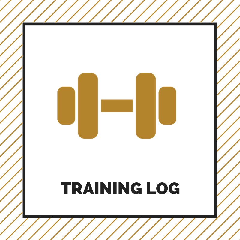 Training log - View weekly off-season strength and conditioning workouts.