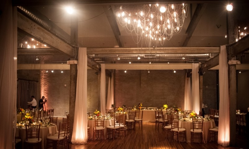 Provides Ambiance - Sometimes, couples prefer a cooler temperature or look, while others desire a warmer feel.  Uplighting has become the most affordable and impactful way to enhance any wedding space.  Our high powered LED lights will transform your room from standard to stunning.
