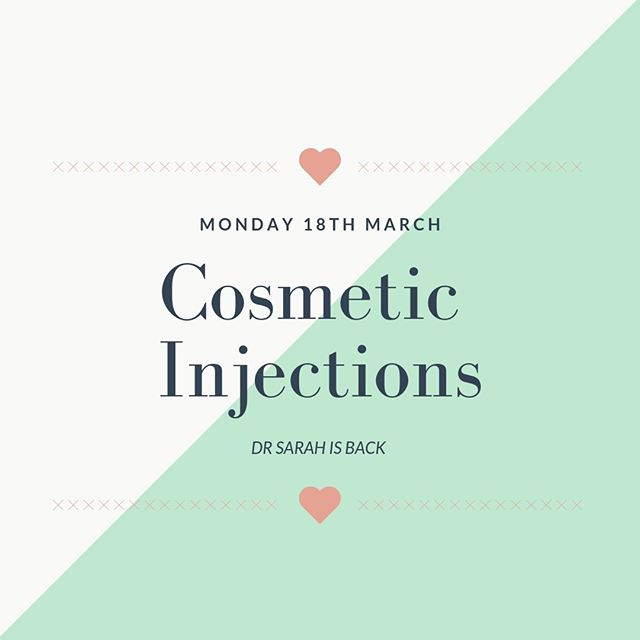 Excited much 🤗🤗 Dr Sarah is back! . . . #skinsational #cosmeticinjections #orangensw #bathurst #drnotanurse #dr #injectables