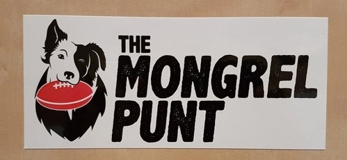 Grab a Mongrel Bumper Sticker - click the image and give us a bit of promo/help