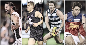 Who was #1 in The Mongrel Punt's Player Power Rankings after R4? Where do Cripps and Bont rate?
