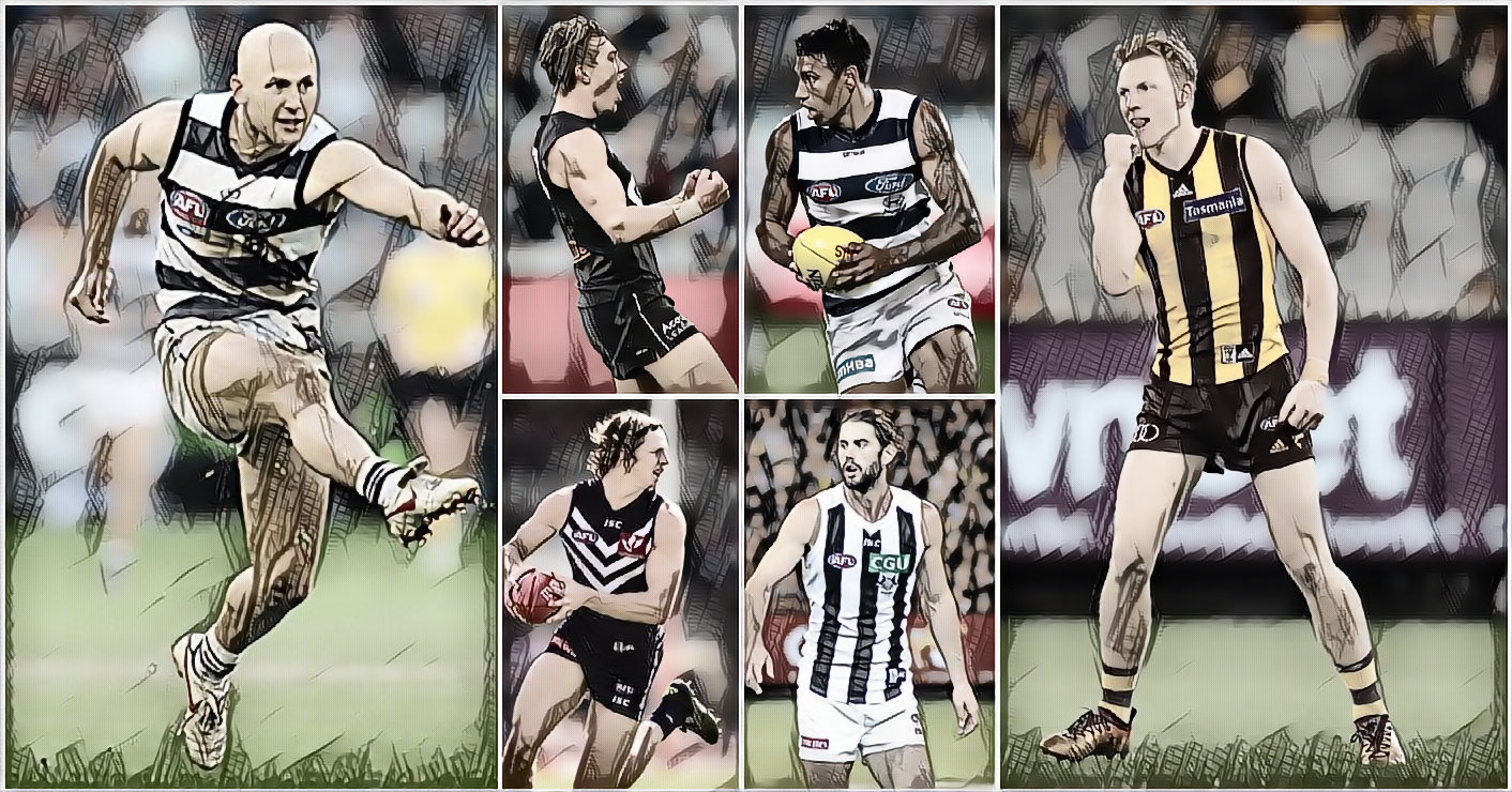 Click on through the Mongrel Player Power Rankings