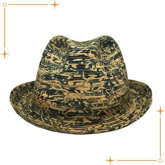 Style No.: 2538   Material: 50%paper 50%polyester