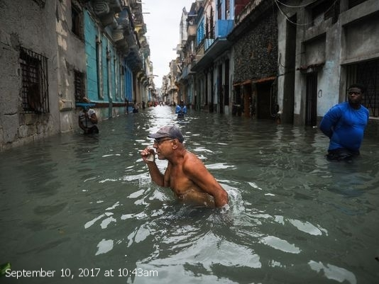 'I've lost everything.' Cubans face damage from Hurricane Irma