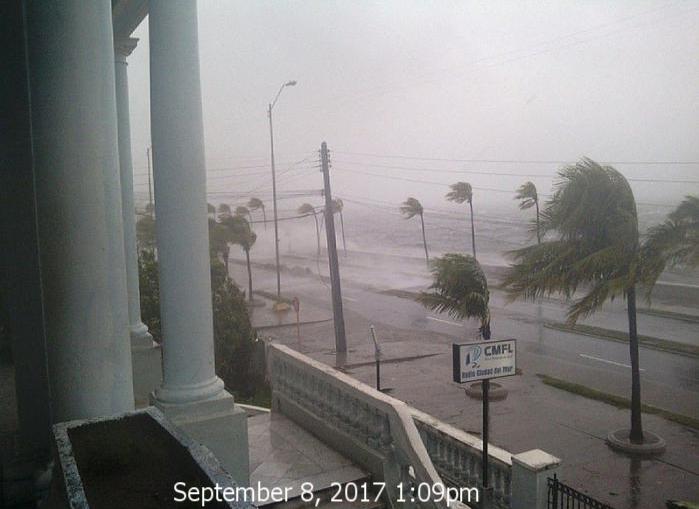 Minute by minute: Hurricane Irma in Cuba