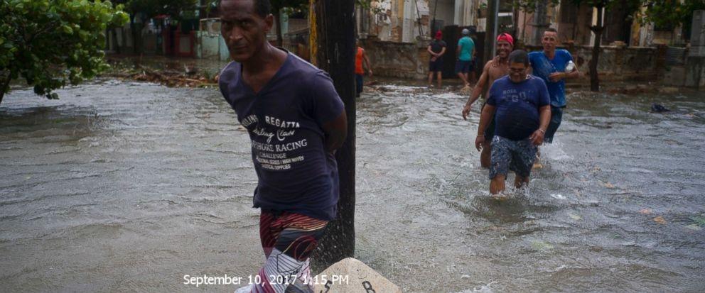 Cuba sees devastation as Hurricane Irma veers toward Florida
