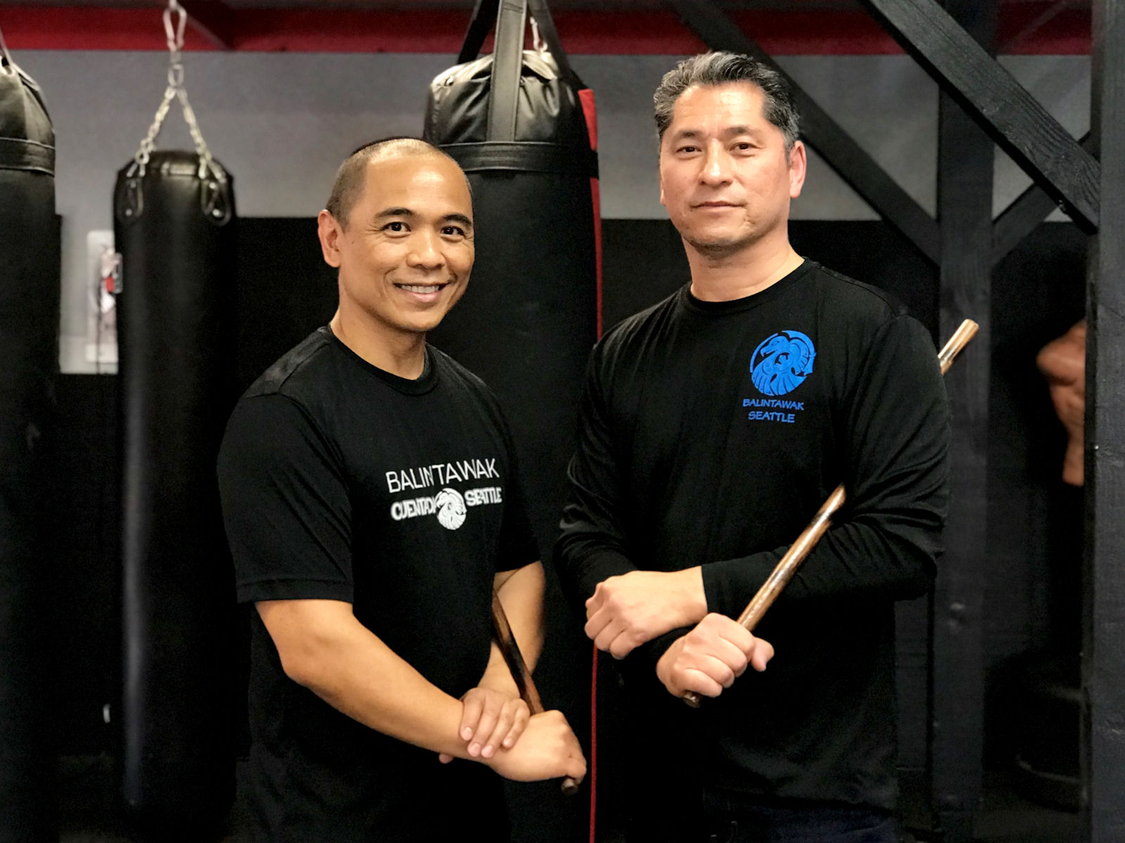 Instructor Raul and Guro John Soriano